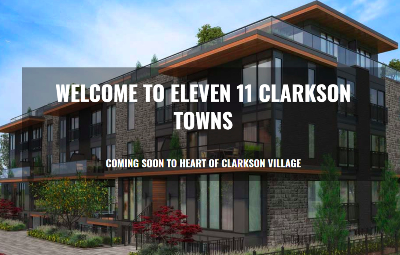 Eleven 11 Clarkson New Townhomes