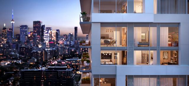 RIVER & FIFTH In the heart of Toronto's emerging Downtown East, the fusion of nature & city dance along the river's edge. Come home to refined condominium residences that bring the outside in. 93 River Street Toronto, ON M5A 3P4