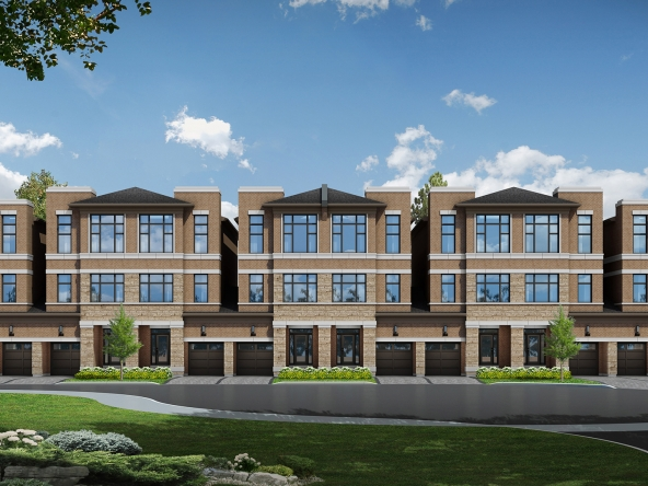 Belmont Townhomes from Caliber Homes