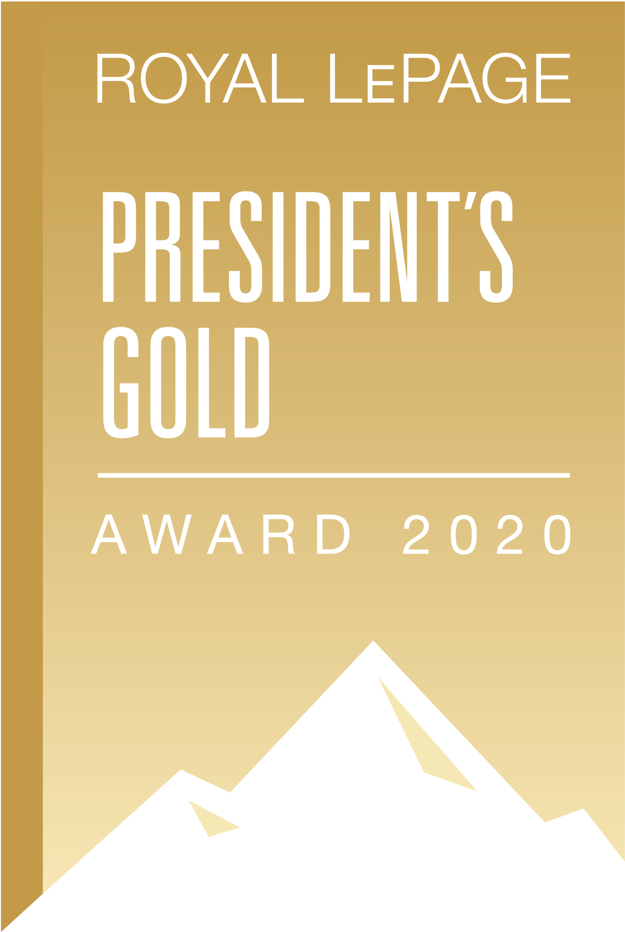 President Gold 2020 Sales Award