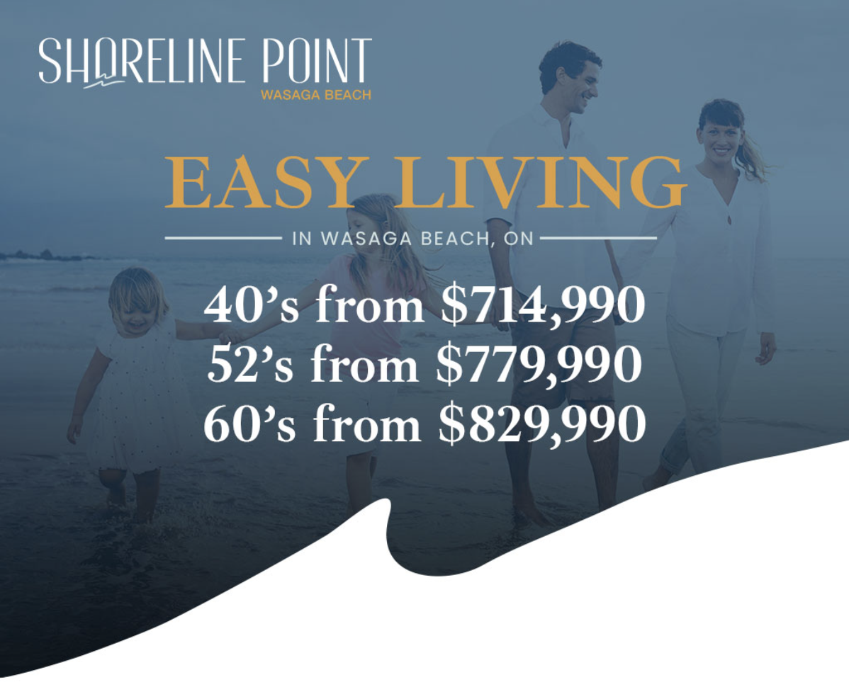 The Shorepoint Luxury Homes Wasaga Beach