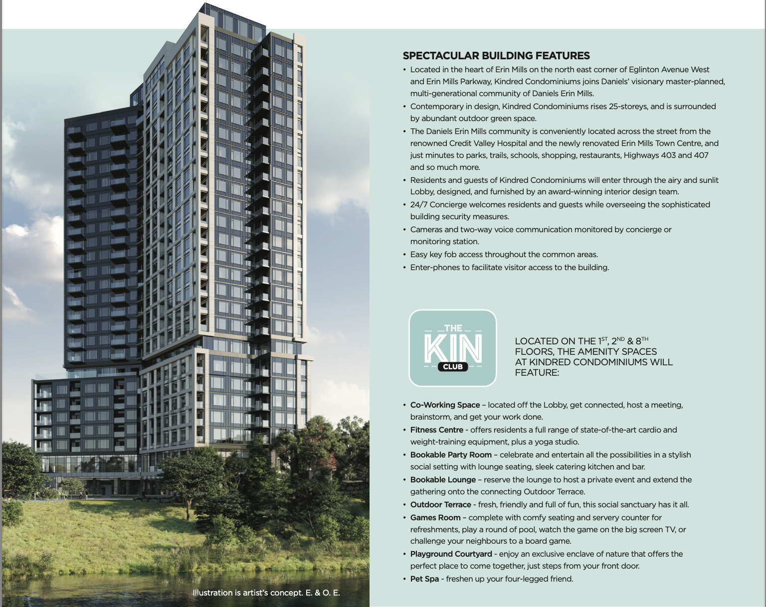 Kindred Condos By Daniels In Erin Glen Mississauga